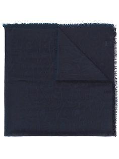 шарф с узором Salvatore Ferragamo