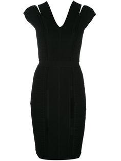 вечерне платье с вырезными деталями Versace