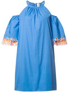 платье с открытыми плечами Peter Pilotto