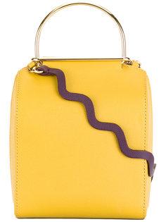 сумка через плечо с волнистой лямкой Roksanda
