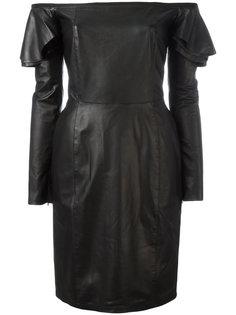 платье с открытыми плечами Diesel