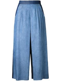 укороченные расклешенные брюки Guild Prime
