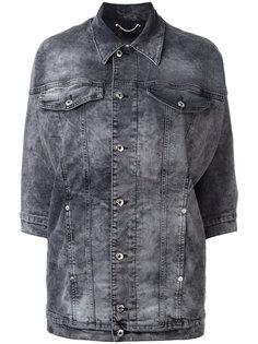 джинсовая куртка с рукавами три четверти Diesel
