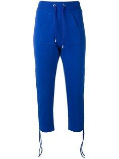 укороченные брюки с завязками Moschino