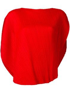 блузка с закругленным подолом Pleats Please By Issey Miyake