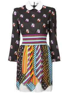 платье-рубашка с узором Mary Katrantzou