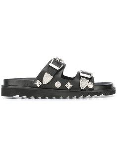 сандалии с пряжками Toga