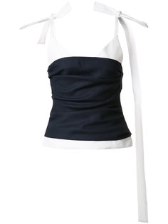 блузка на лямках Jacquemus