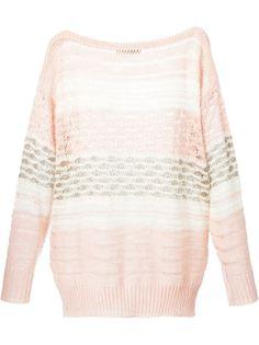 свитер свободной вязки  Escada Vintage