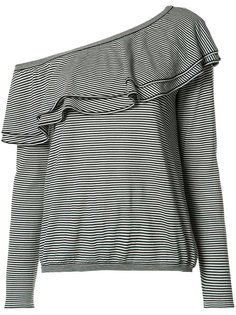 трикотажная блузка на одно плечо Brunello Cucinelli