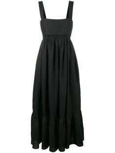длинное платье с расклешенным подолом Chloé