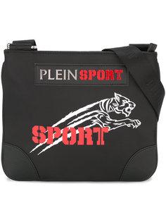 сумка-мессенджер с нашивкой логотипа Plein Sport