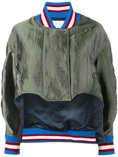 асимметричная куртка-бомбер Esteban Cortazar
