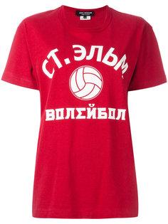 футболка с принтом-логотипом Junya Watanabe Comme Des Garçons