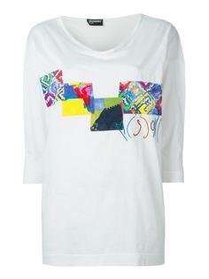 футболка с заплатками Missoni Vintage