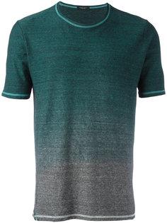 футболка с градиентным узором Roberto Collina