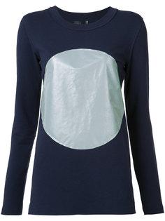 футболка с принтом круга Norma Kamali