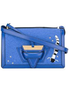 сумка через плечо с вышивкой Loewe