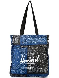 сумка-тоут с принтом логотипа Herschel Supply Co.