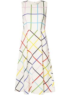 Osmond grid print dress Mary Katrantzou