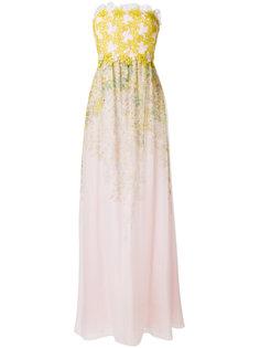 платье без бретелей Giambattista Valli