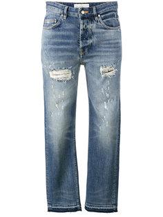 джинсы с рваными деталями Golden Goose Deluxe Brand