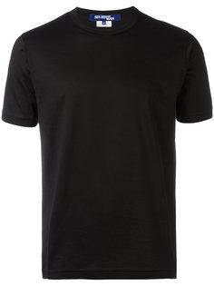 однотонная футболка Junya Watanabe Comme Des Garçons Man