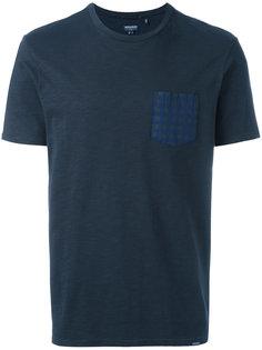 футболка с узорчатым карманом Woolrich