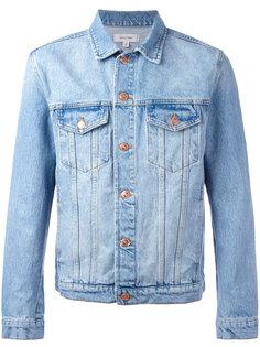 джинсовая куртка с выбеленным эффектом Soulland