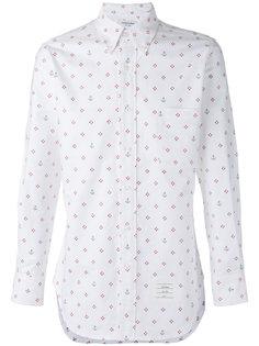 рубашка с мелким принтом Thom Browne