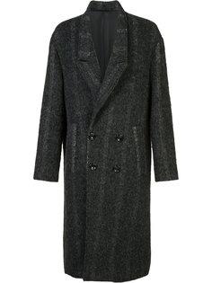 двубортное пальто Second/Layer