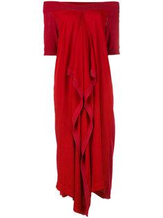 платье с вырезом-лодочкой Antonio Marras