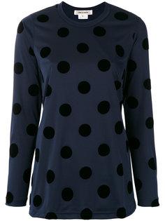 блузка с узором в горох Comme Des Garçons