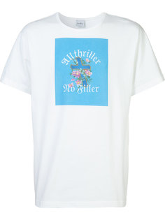 футболка с принтом all thriller Second/Layer