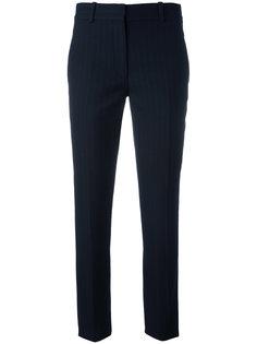 костюмные брюки в тонкую полоску Victoria Beckham