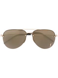"""солнцезащитные очки """"авиаторы"""" Monogram  Saint Laurent"""