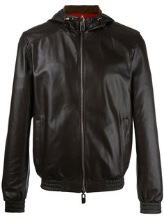 двухсторонняя куртка с капюшоном Bally