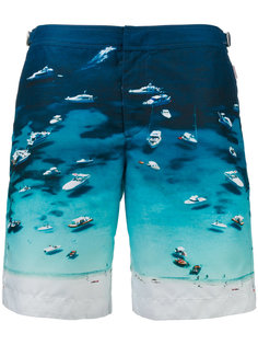 шорты для плавания Daneii Photographic Orlebar Brown
