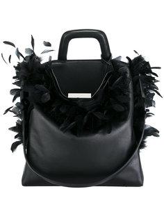 сумка на плечо с перьями Landi