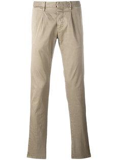 узкие брюки Incotex