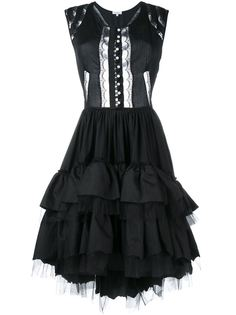 платье миди с оборками Natasha Zinko