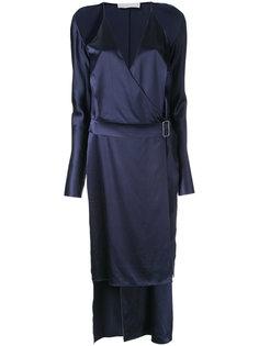 платье с открытыми плечами  Dion Lee
