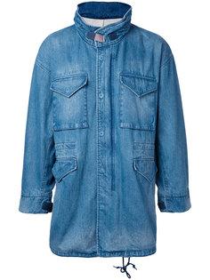 джинсовая куртка свободного кроя monkey time