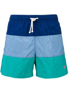 шорты для плавания в стиле колор-блок Maison Kitsuné
