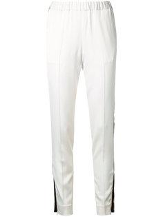 спортивные брюки с контрастными полосками 08Sircus