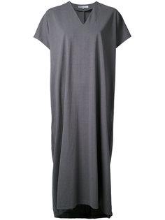 трикотажное платье с V-образным вырезом 08Sircus