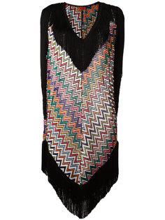 пляжное платье с зигзагообразным узором Missoni