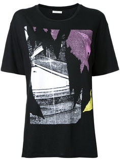 футболка с абстрактным принтом 6397