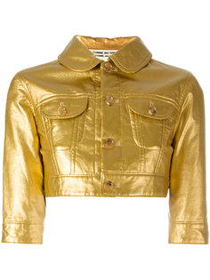 укороченная куртка Comme Des Garçons Vintage