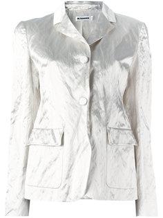 пиджак с карманами с клапанами Jil Sander